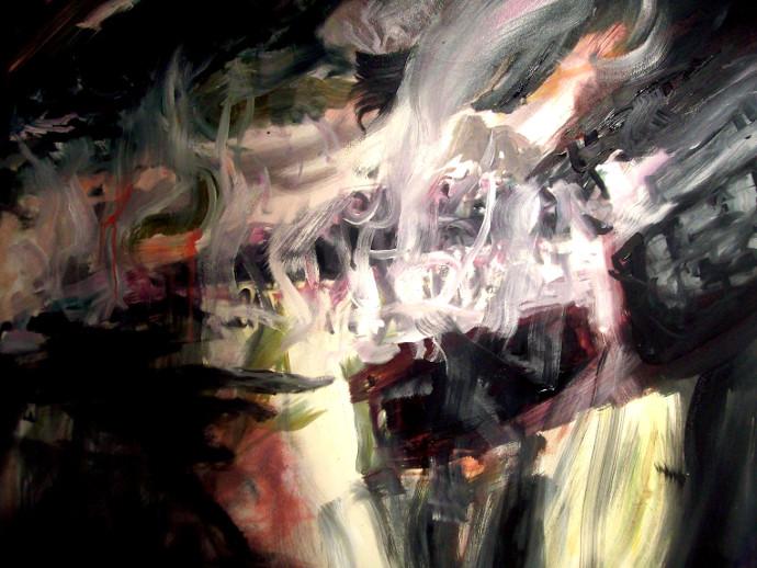 Entropie I- Entrophy I, ulei pe panza- oil of canavas, 100x 120cm, 2010