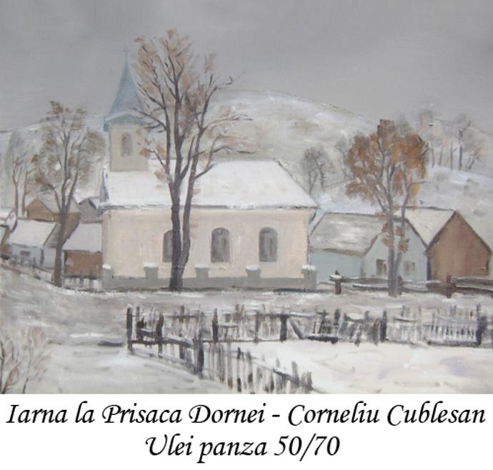 Iarna la Prisaca Dornei