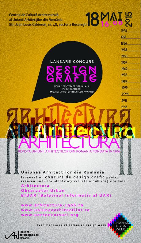AFIS_concurs design grafic_UAR_Arhitectura_RDW