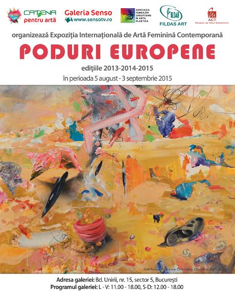 afis Expo PODURI EUROPENE laGaleria SENSO