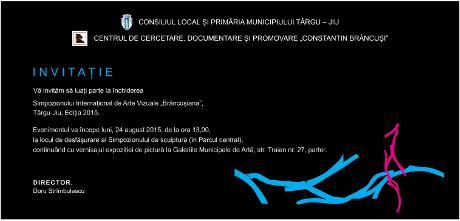 invitatie inchidere SIMPOZION BRANCUSIANA