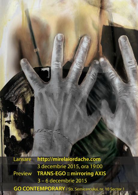 Afis lansare mirelaiordache.com @ Go Contemporary