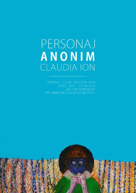 Claudia Ion - Personaj anonim @ Go Contemporary 10.12.2015