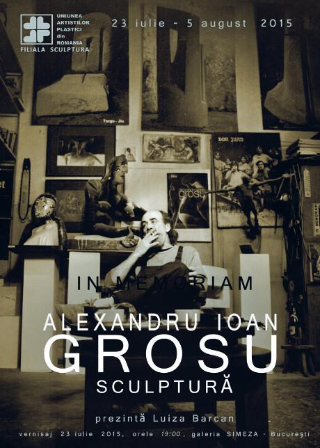 afis Alexandru Grosu