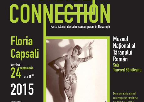 Time Dance Connection. Bucharest in Action (1925-2015) <br> Harta istoriei dansului contemporan în București