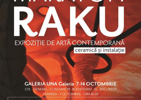Expoziția de artă contemporană Maraton Raku