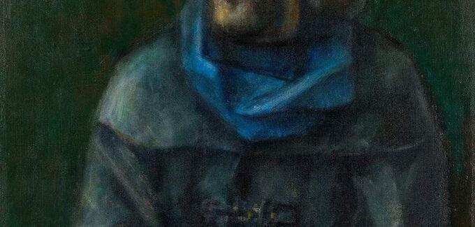 Autoportret cu anemone @ Căminul Artei