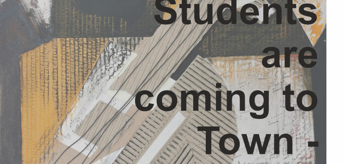 Students are coming to Town @ Vrancea