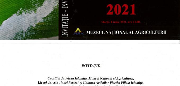 Expoziția absolvenților 2021 @ Slobozia
