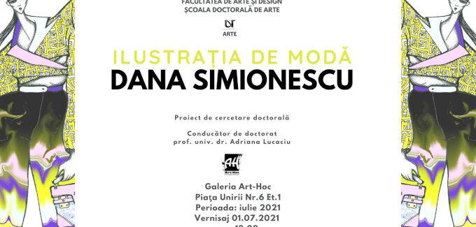 ILUSTRAȚIA DE MODĂ – Dana Simionescu @ Timișoara