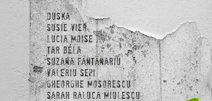"""Tabăra Internațională de Creație Artistică """"Stefan Jäger"""" 2021 @ Timișoara"""